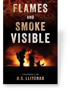 Flames and Smoke Visible by D.S. Lliteras