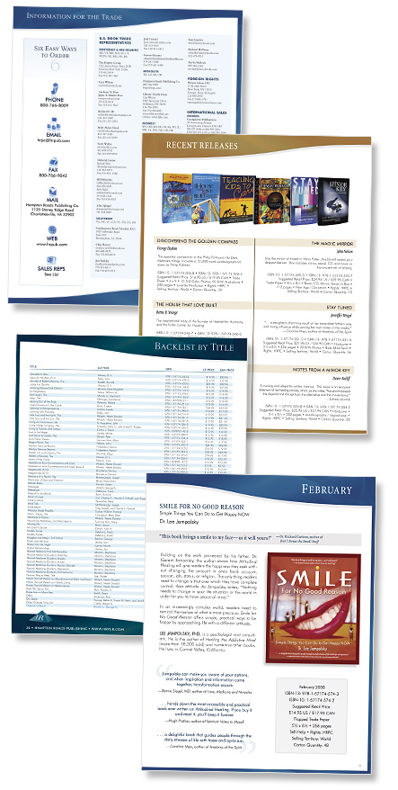 Hampton Roads Publishing catalog pages