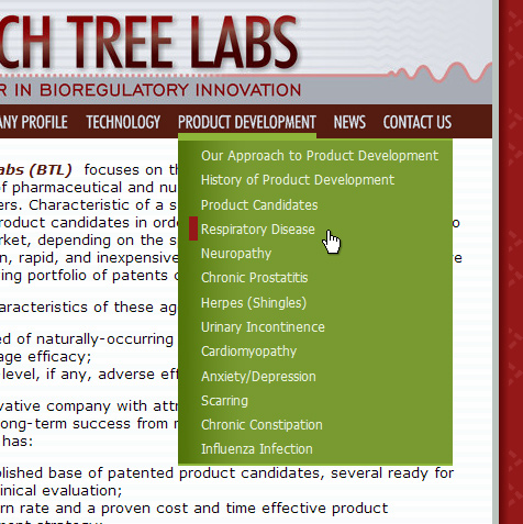 Beech Tree Labs page image