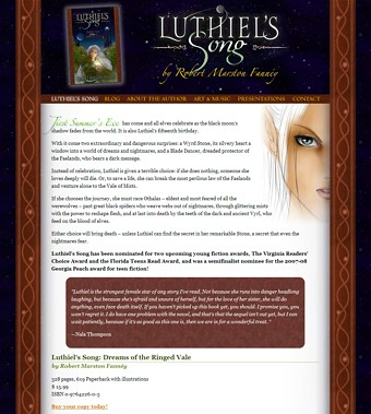 Luthiel's Song page image