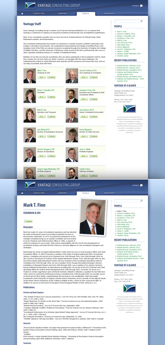 Vantage Consulting Group page image